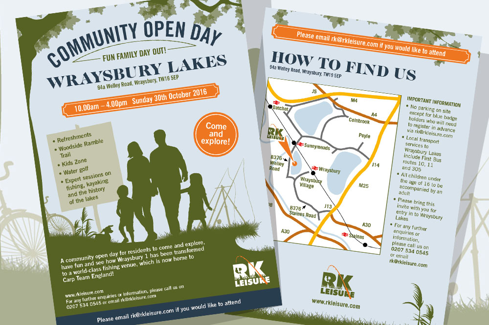 RK Leisure - Wraysbury 1 community open day 30th October 2016!